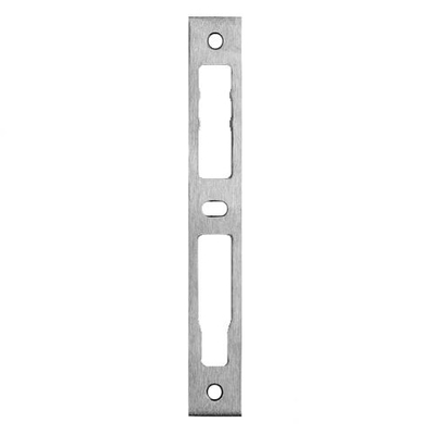 Gâche plate inox universelle