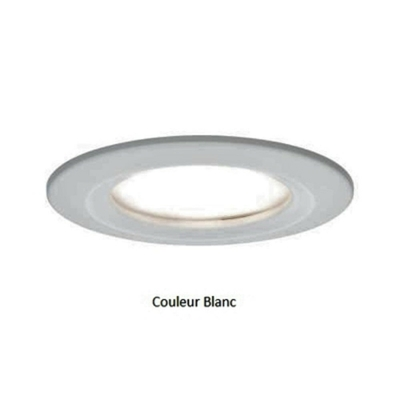 Encastrés LED Coin Slim IP44 rond 6,8 W blanc