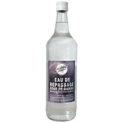 Eau de repassage rose de damas 1l
