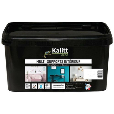 Kalitt Multi supports mat blanc 2.5l
