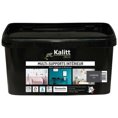 Kalitt Multi supports mat carbone 2.5l