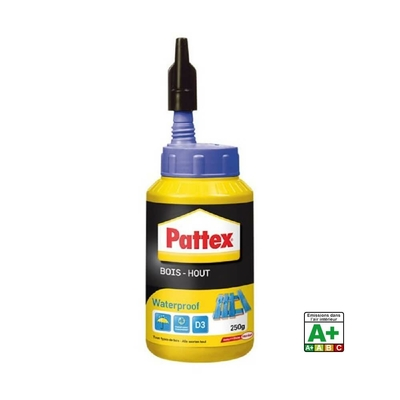 Pattex colle bois waterproof bouteille 250g