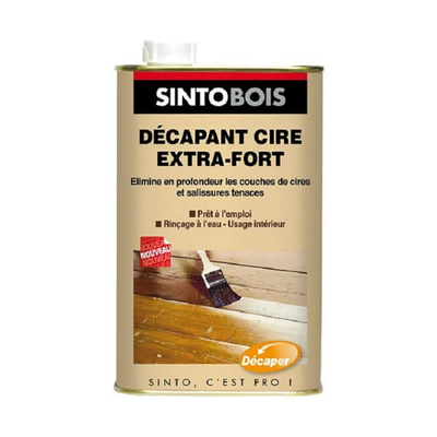 Décapant cire extra fort 1L