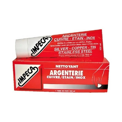 Impeca argenterie tube grand modèle 100ml