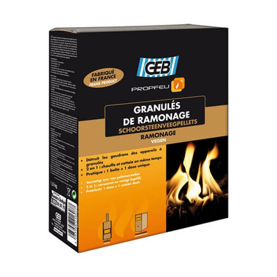 Granules de ramonage GEB