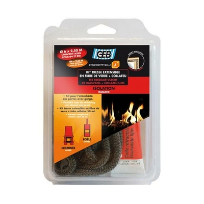 Kit tresse fibre verre extensible D6mm