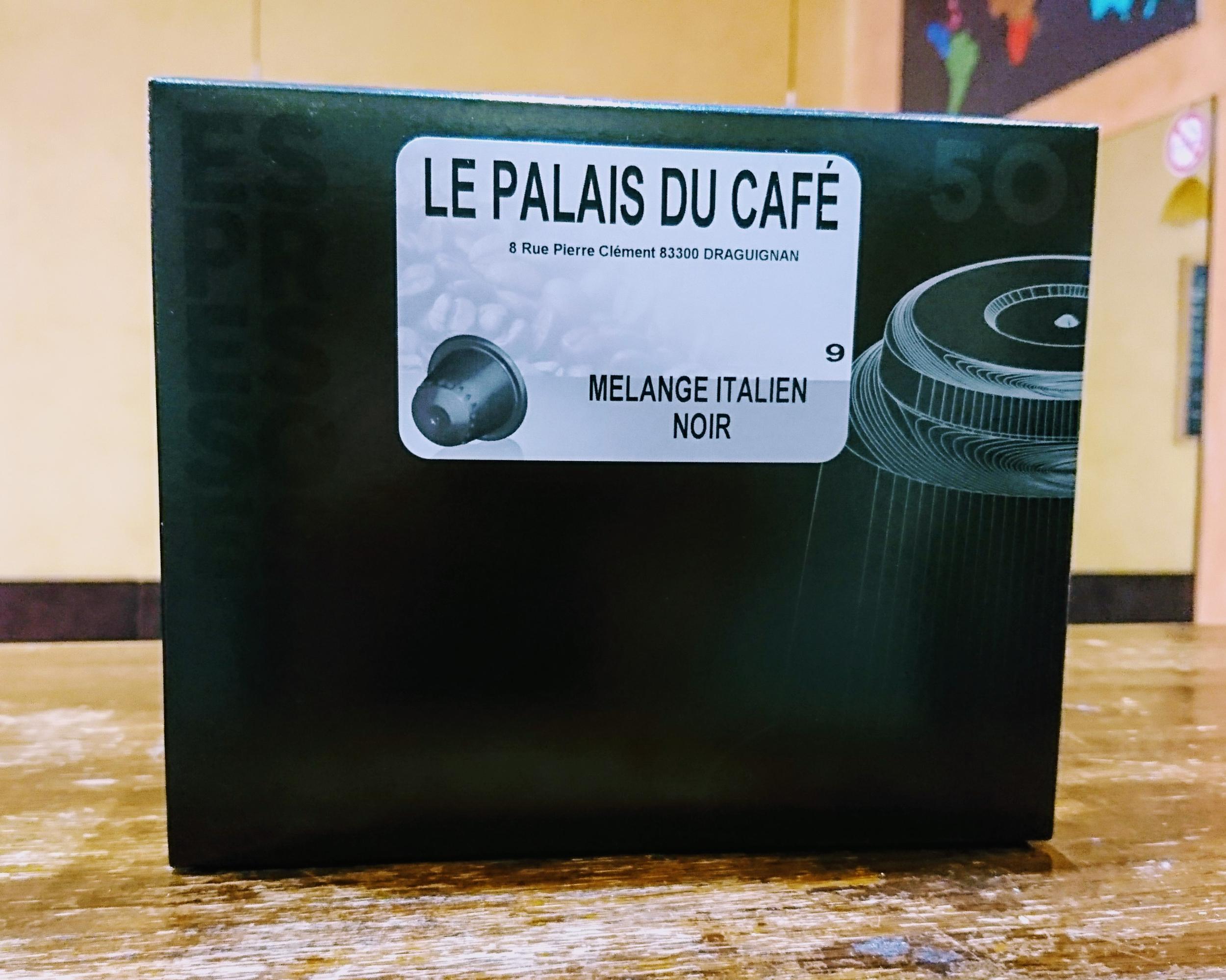 50 Capsules Compatibles Nespresso® Blend Espresso 80 % arabica - 20 % robusta