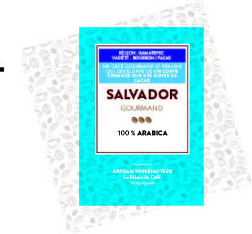 Etiquette café salvador