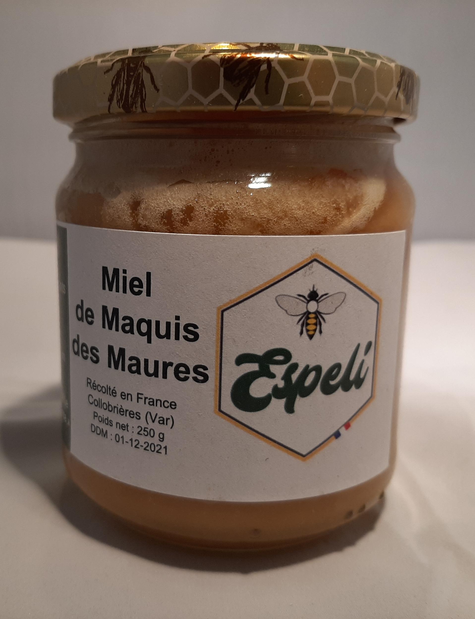 Miel de maquis des Maures - 250 gr