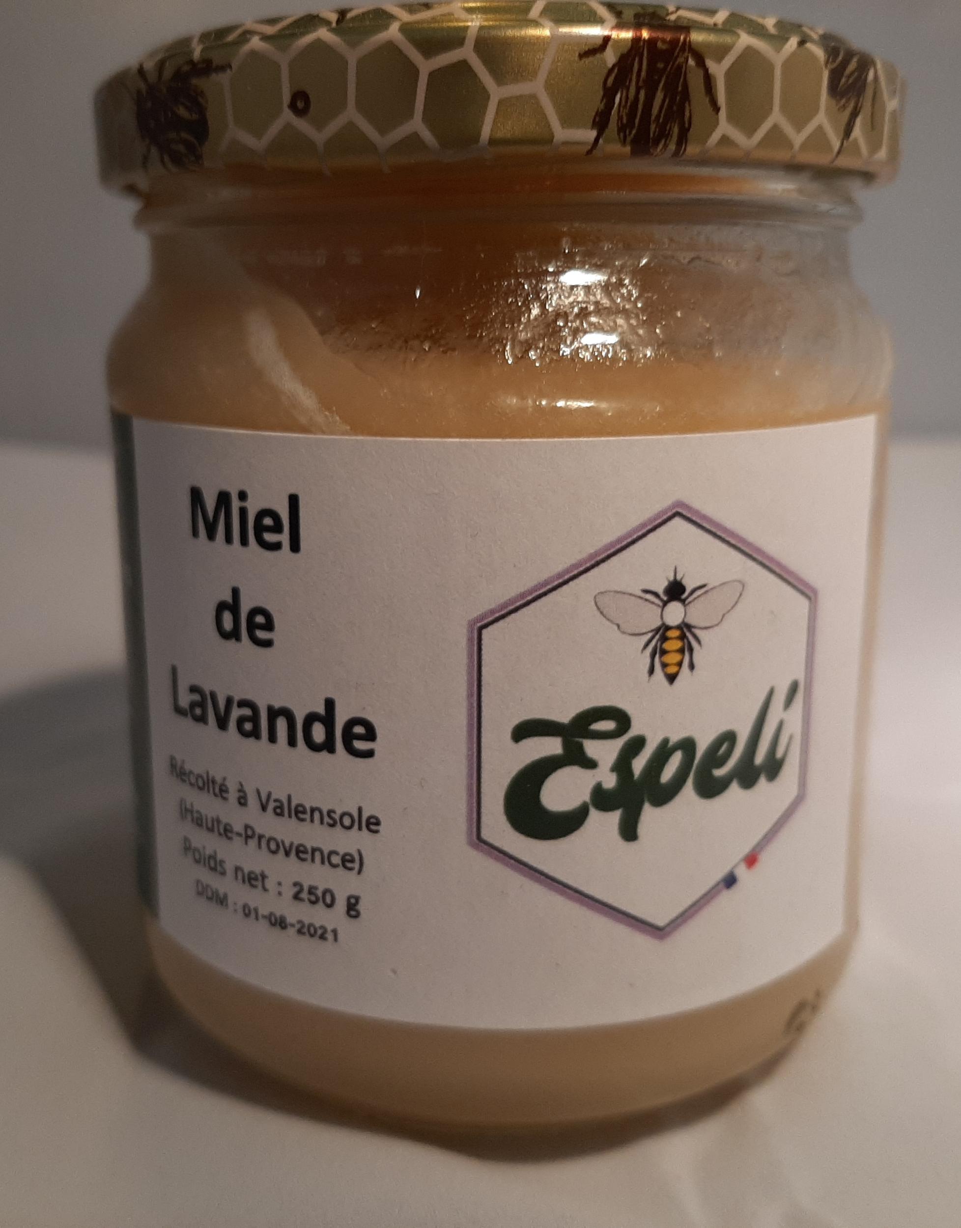 Miel de Lavande - ESPELI - 250 gr