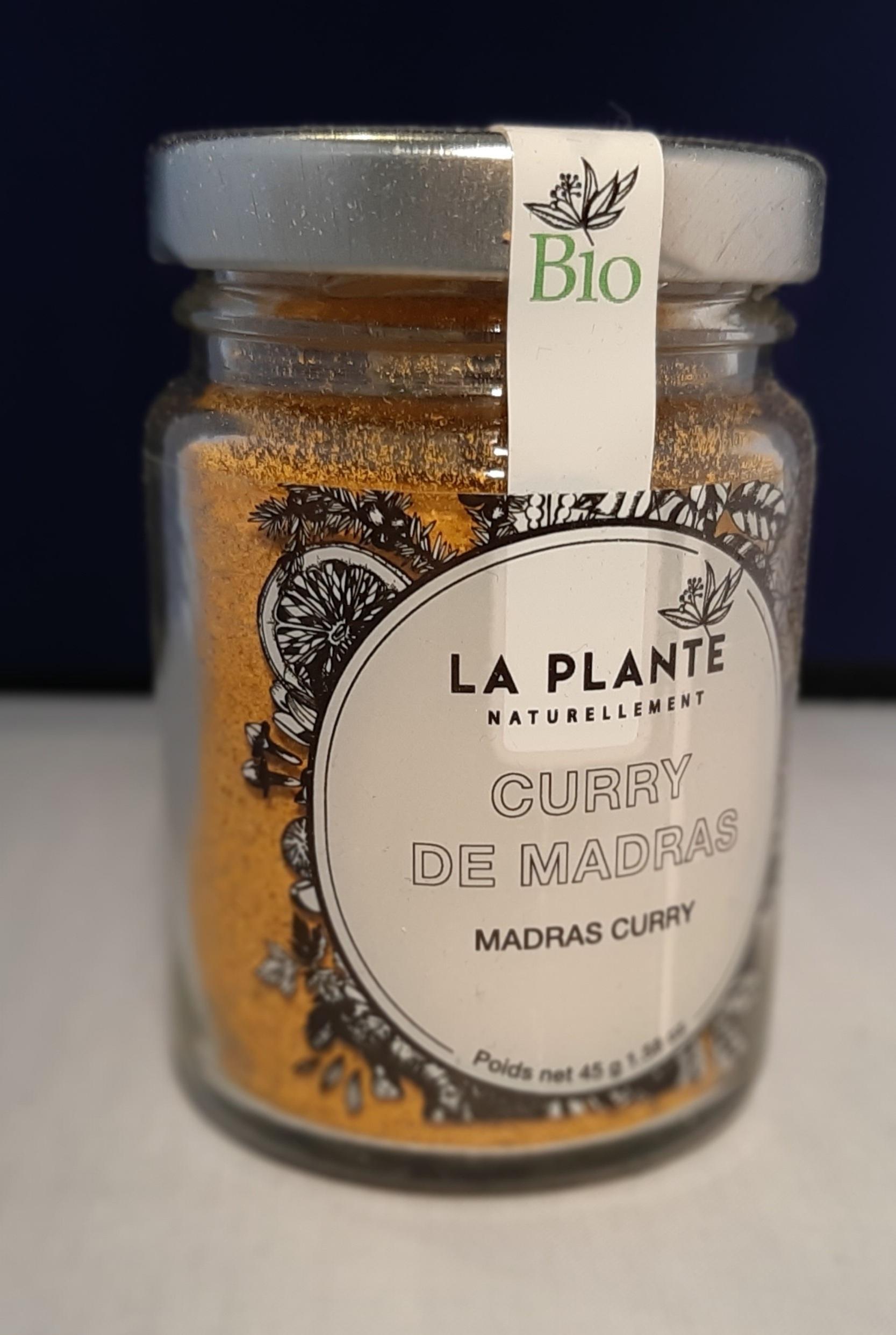 Curry de Madras BIO.  45 gr
