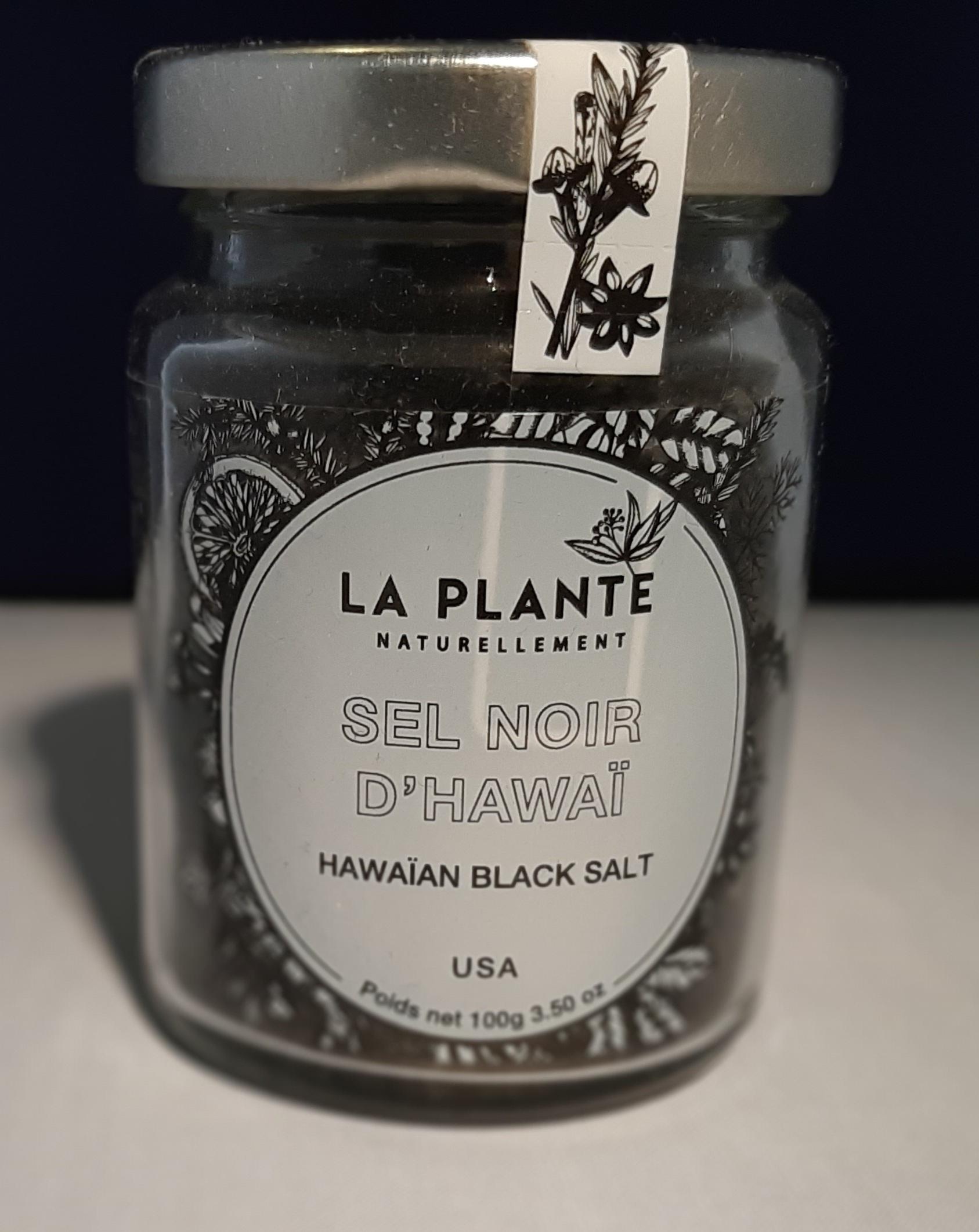Sel noir de Hawaii BIO . 100 gr