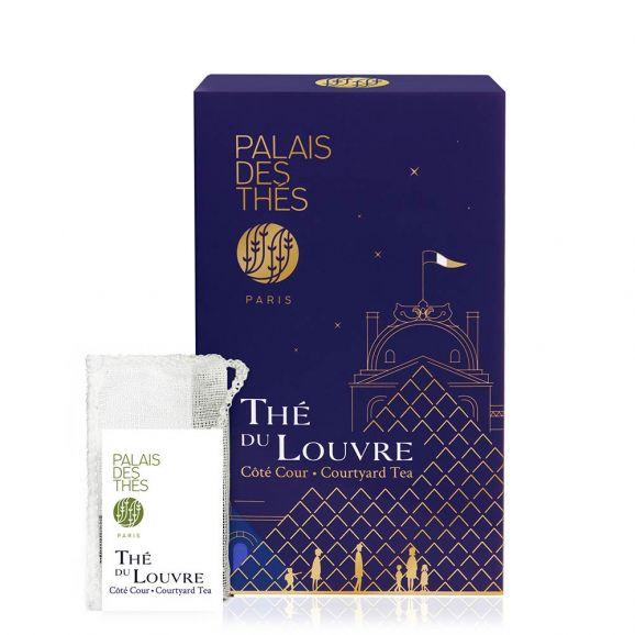 Thé du Louvre - Le Palais des thés - 20 sachets mousselines feuilles entières