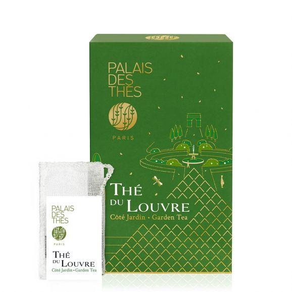 Thé du Louvre côté jardin - Le Palais des thés - 20 sachets mousselines feuilles entières