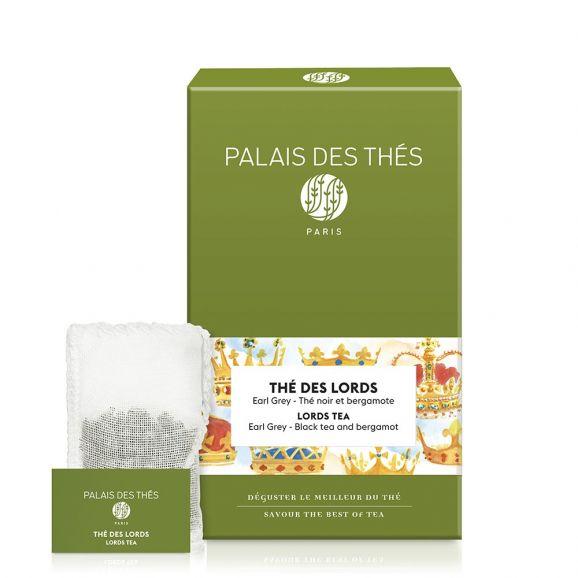 Thé des Lords - Le Palais des thés - 20 sachets mousselines feuilles entières