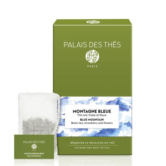 Montagne Bleue - Le palais des thés - 20 sachets mousselines feuilles entières