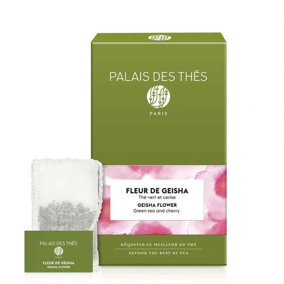 Fleur de Geisha - Le Palais des thés -20 sachets mousselines feuilles entières