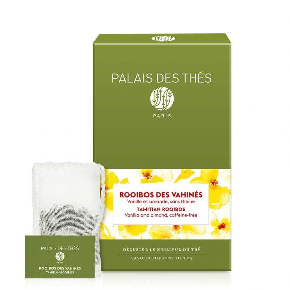 Rooibos des vahinés - Le Palais des thés - 20 sachets mousselines feuilles entières