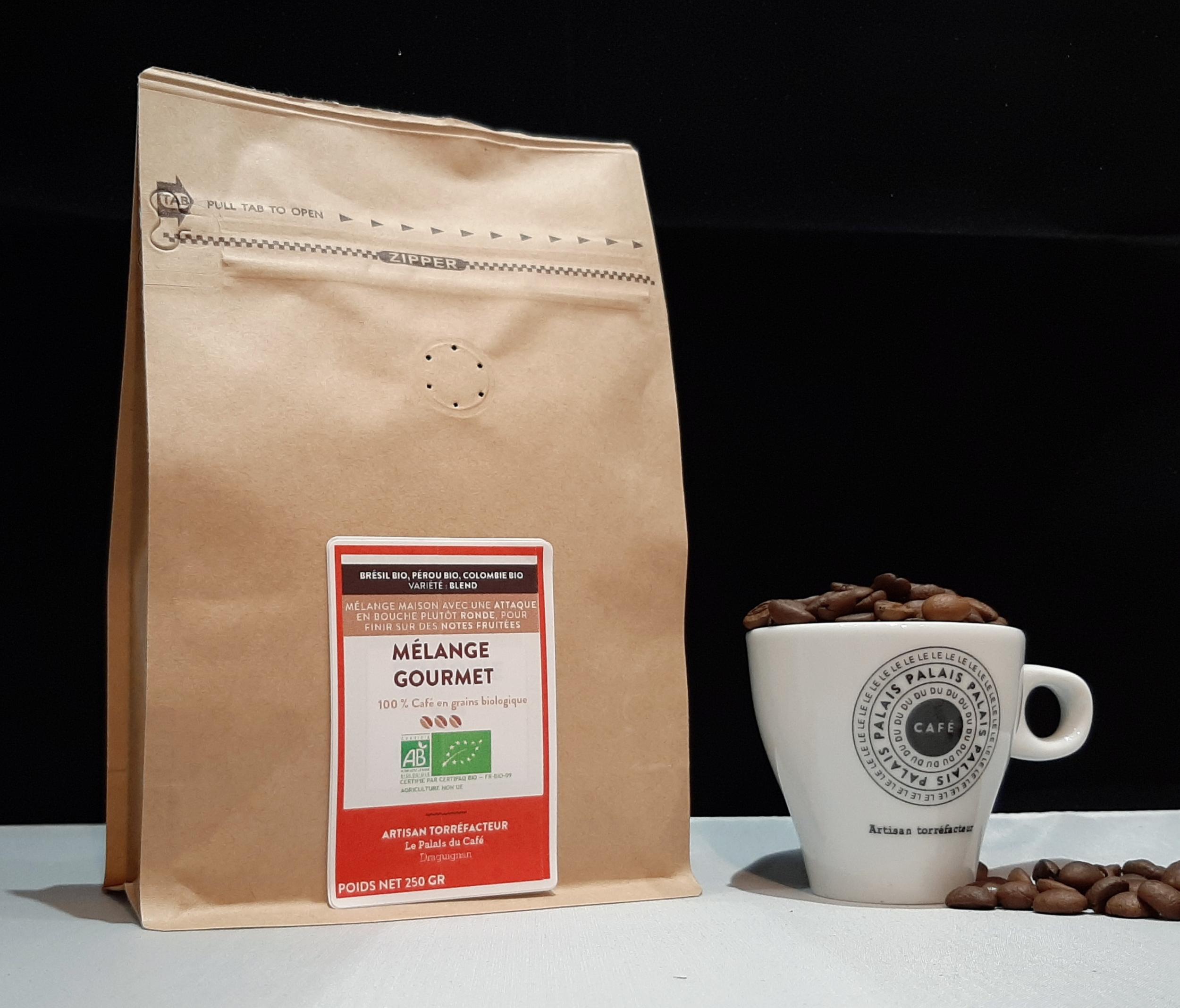 Café en grain Mélange expresso Bio