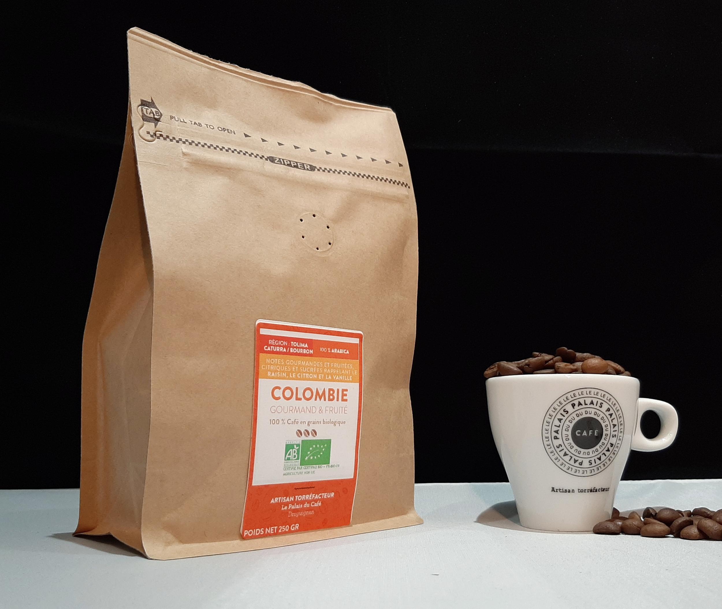 Colombie Bio 100% Arabica - Gourmand & fruité