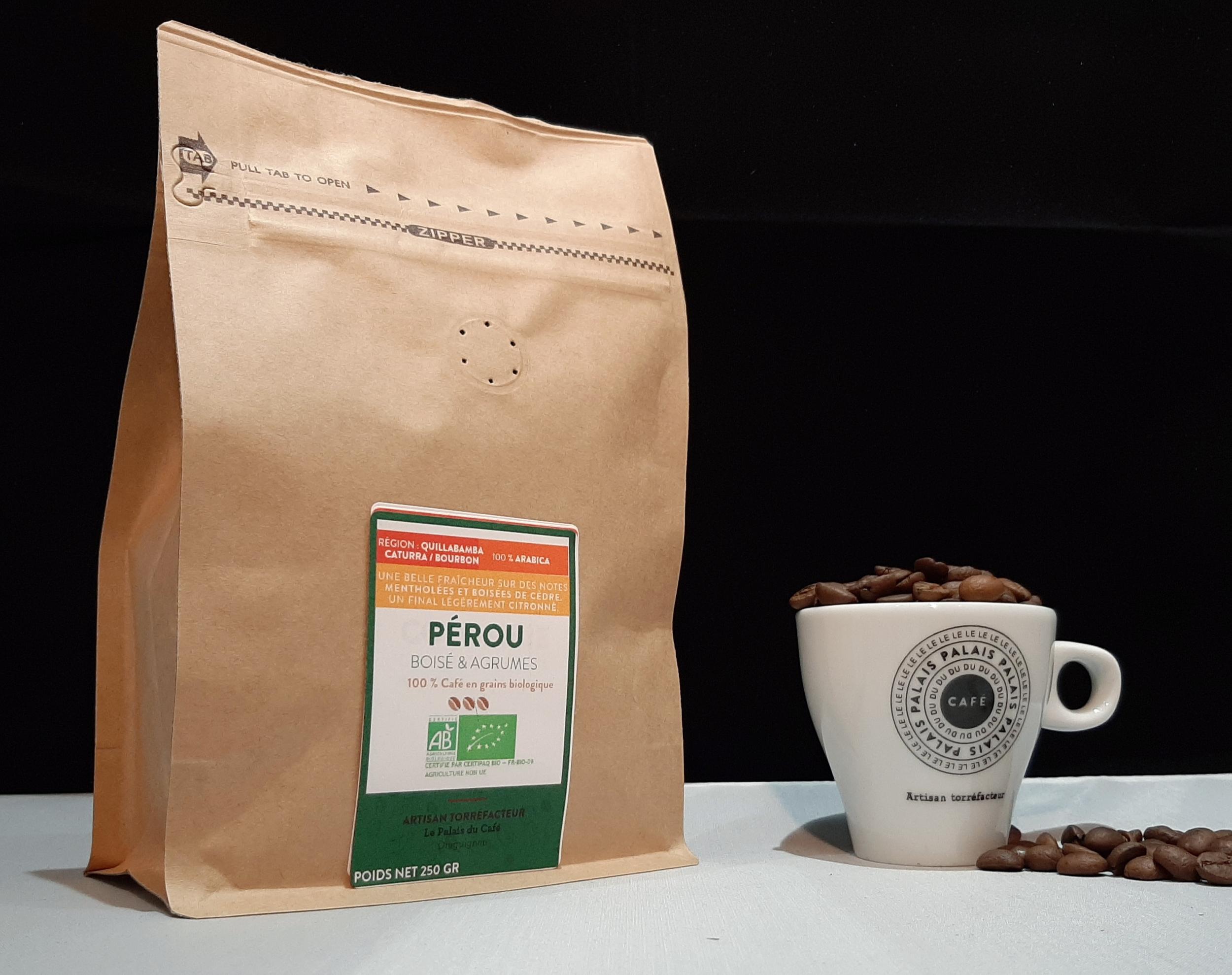 Pérou Bio 100 % Arabica - Boisé & Agrumes