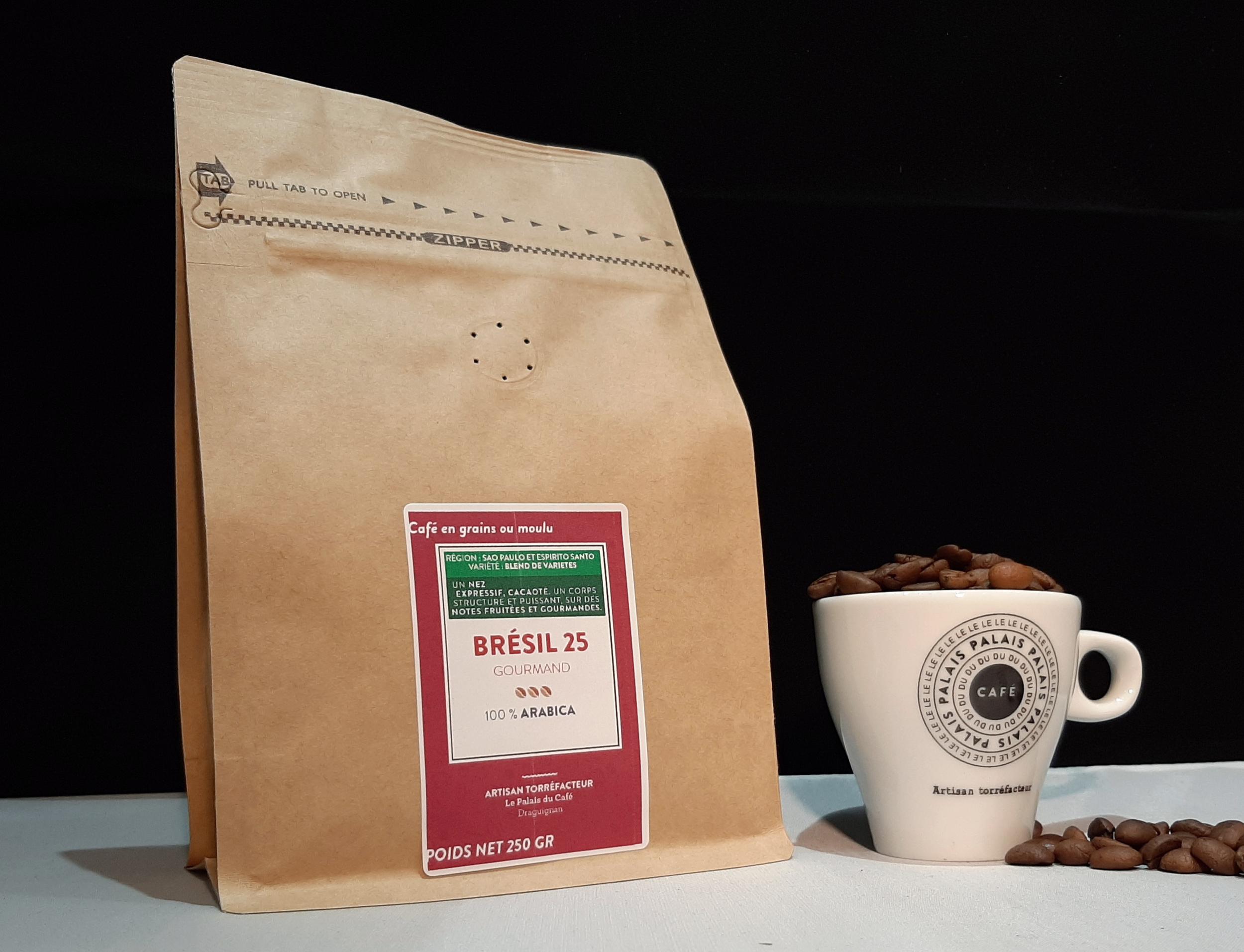 Brésil Blend Espresso 25s - spécial expresso