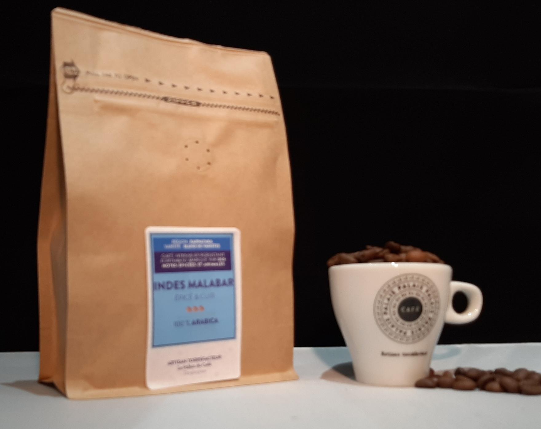 café en grain Indes Malava