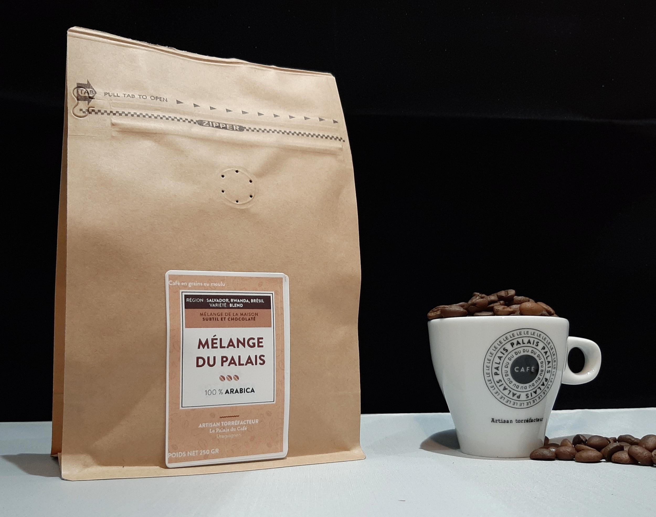 Café en grains mélange expresso doux