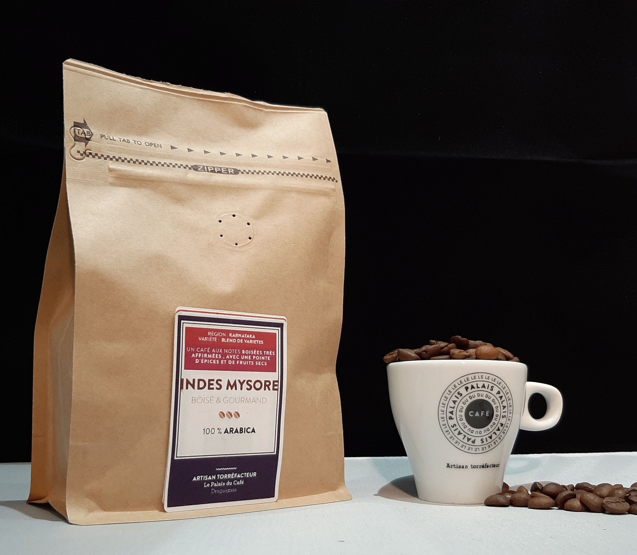 Café en grain Indes Mysore