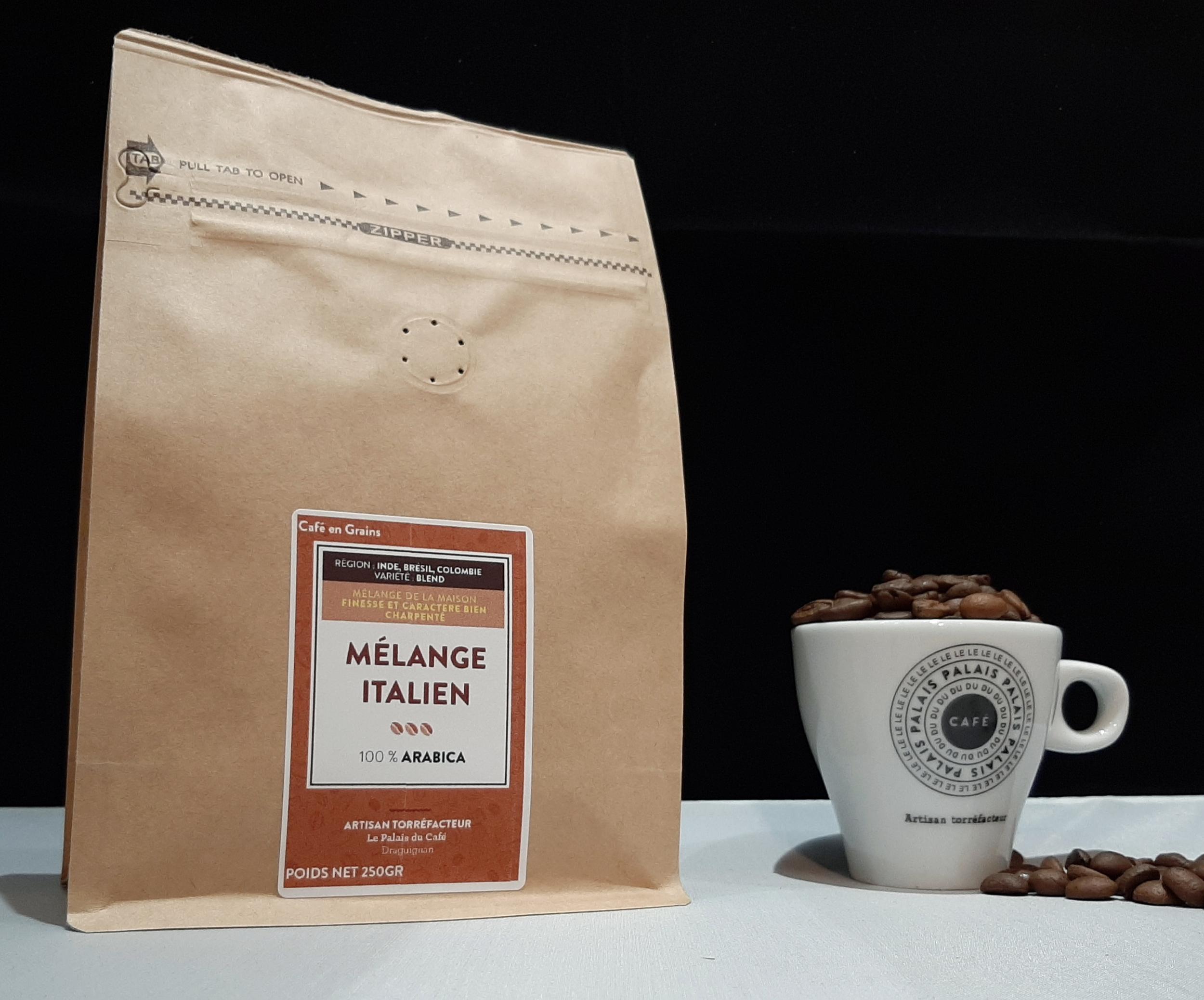 Café en grains mélange expresso