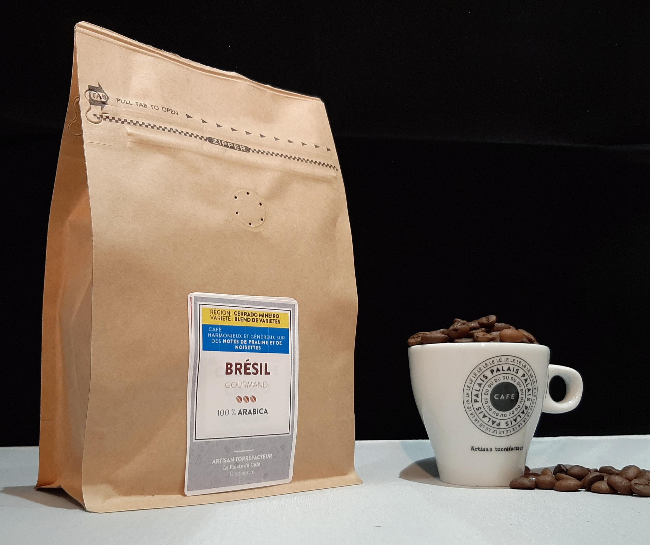 Café en grains Brésil