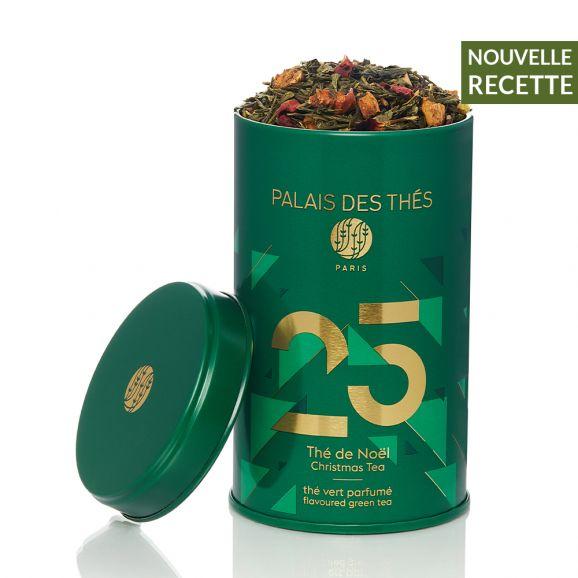 Le Palais des Thés - Thé de Noël- Thé vert n°25 - Boite métal 100 gr