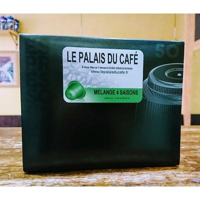 50 Capsules compatibles Nespresso® Quatre saison 100 % arabica