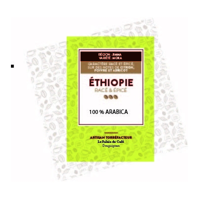 Jimma Ethiopie 100 % arabica - Café de forêt