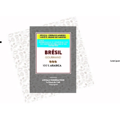 Brésil Linda Cerrado 100 % arabica - Harmonieux et généreux