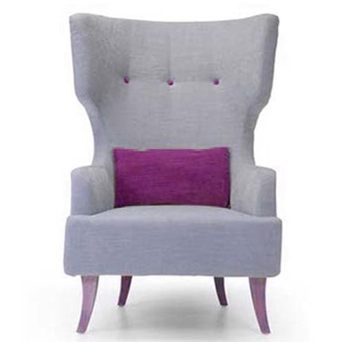 fauteuil bergere haut dossier