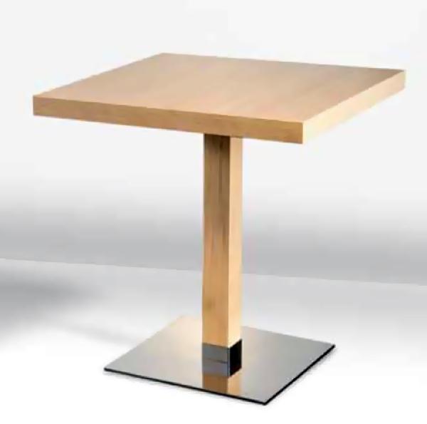 pied table de bar style scandinave coach 715cm tables cafs bars restaurantspitements pour cafs bars restaurants lili pop art pro - Pied Table De Bar