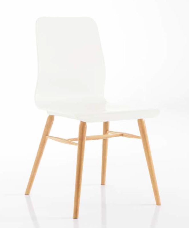 chaise en h tre massif style scandinave charl ne lot de 2 chaises pour salle d 39 attente ou. Black Bedroom Furniture Sets. Home Design Ideas