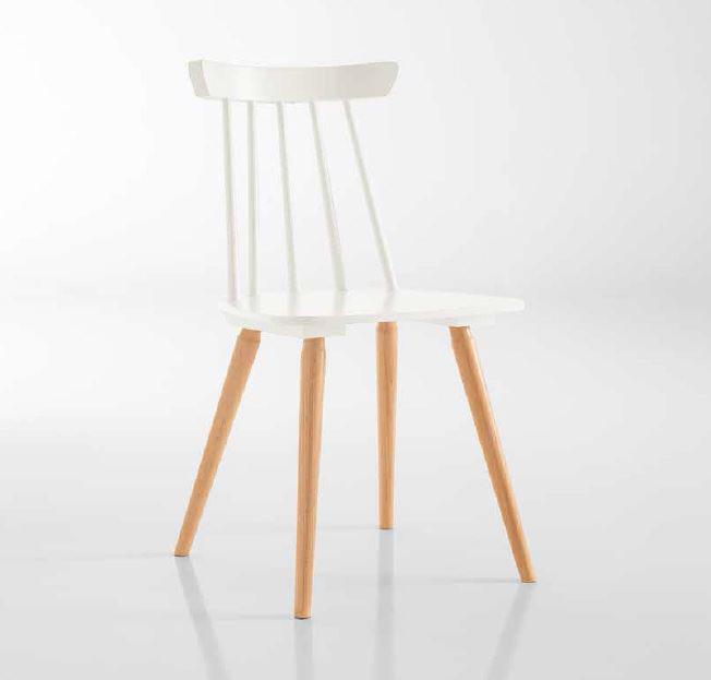 chaise de style design scandinave en bois monaco lot de 2 chaises pour salle d 39 attente ou. Black Bedroom Furniture Sets. Home Design Ideas