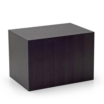 Table basse wengé SORTEO 65x45cm pour Salle d'Attente