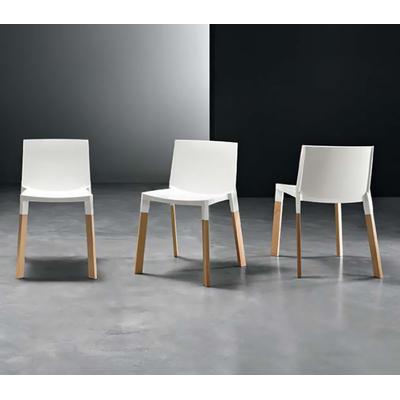 Chaise design FLAMENCA Scandinave - lot de 4 chaises