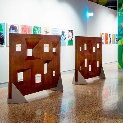 Séparation design MUSEUM intérieur ou extérieur