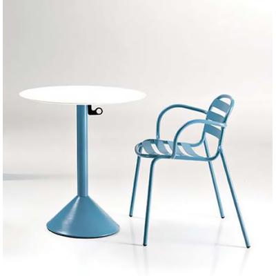 Fauteuil de bar métal NUTS - lot de 4 fauteuils pour Café, Bar et Restaurant