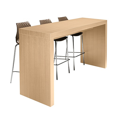 Table haute mange-debout KENT pour bars et restaurant - coloris au choix