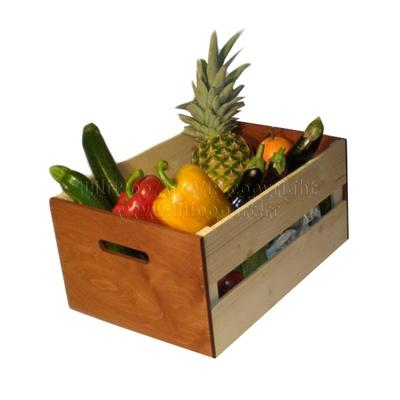 Grande cagette en bois PRIMEUR personnalisable - plusieurs coloris et tailles