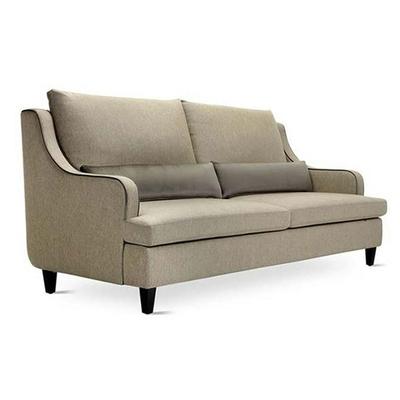 Canapé 3 places RICHARD avec coussins pour hôtel & spa 206cm