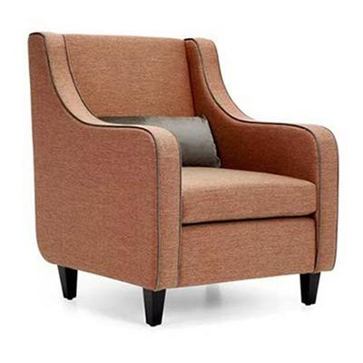 Fauteuil RICHARD avec coussins pour hôtel & spa 74cm