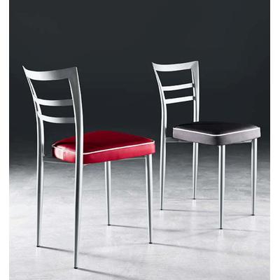 Chaise tapissée KATARINA avec passepoil