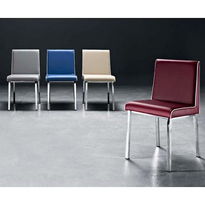 Chaise tapissée PAGNOL avec passepoil