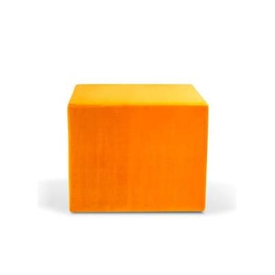Pouf carré CUBA pour salle d'attente - 88x88cm H 41 cm ou H 74cm